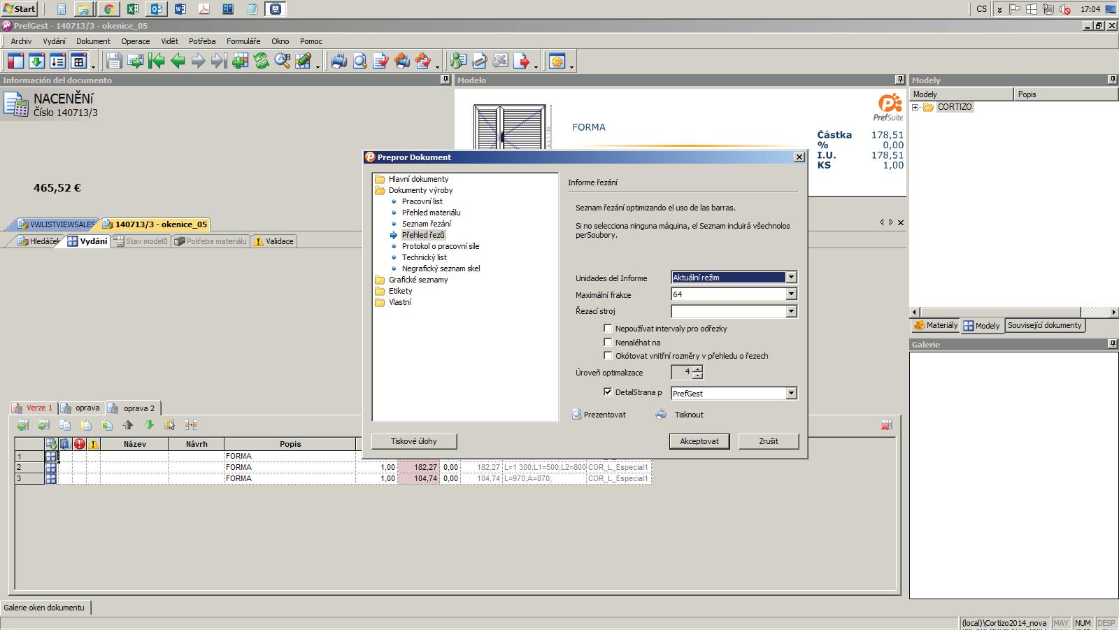 Poradenství - CORTIZO software